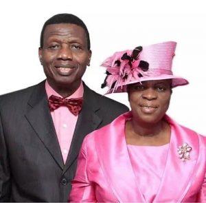 Pastor & Pastor Mrs. Adeboye